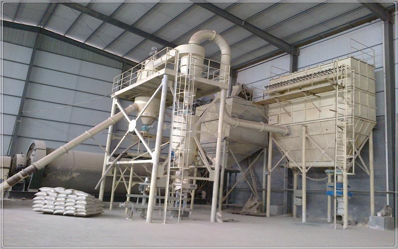 碳酸钙球磨气流分级生产线