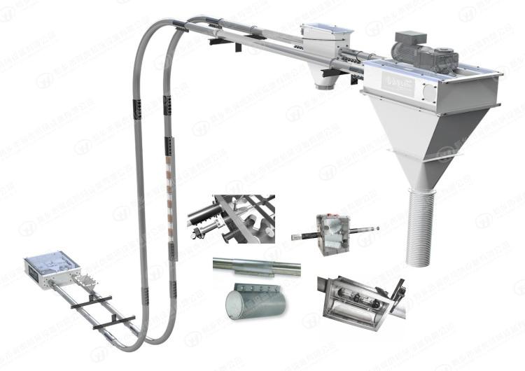 钢丝绳管式刮板输送机插图