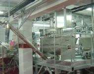 卧式螺带混合机使用现场