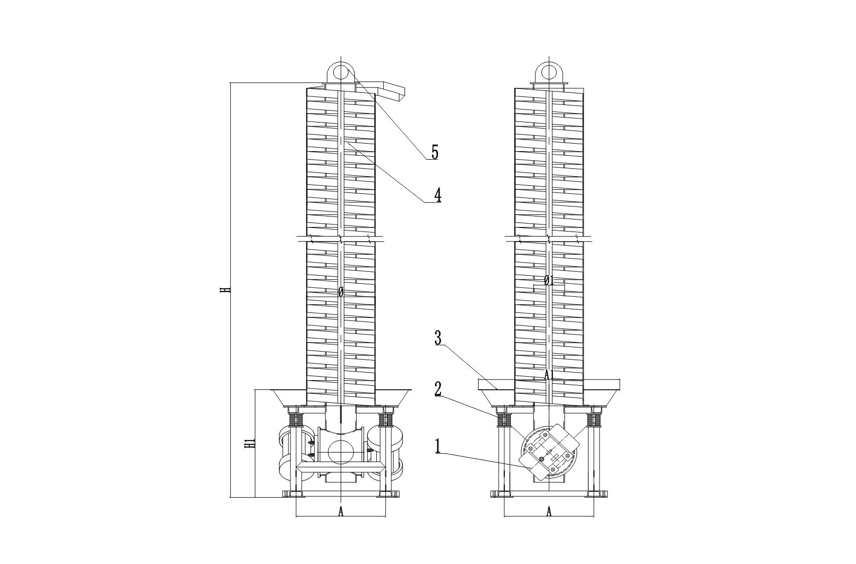 螺旋振动提升机插图(3)